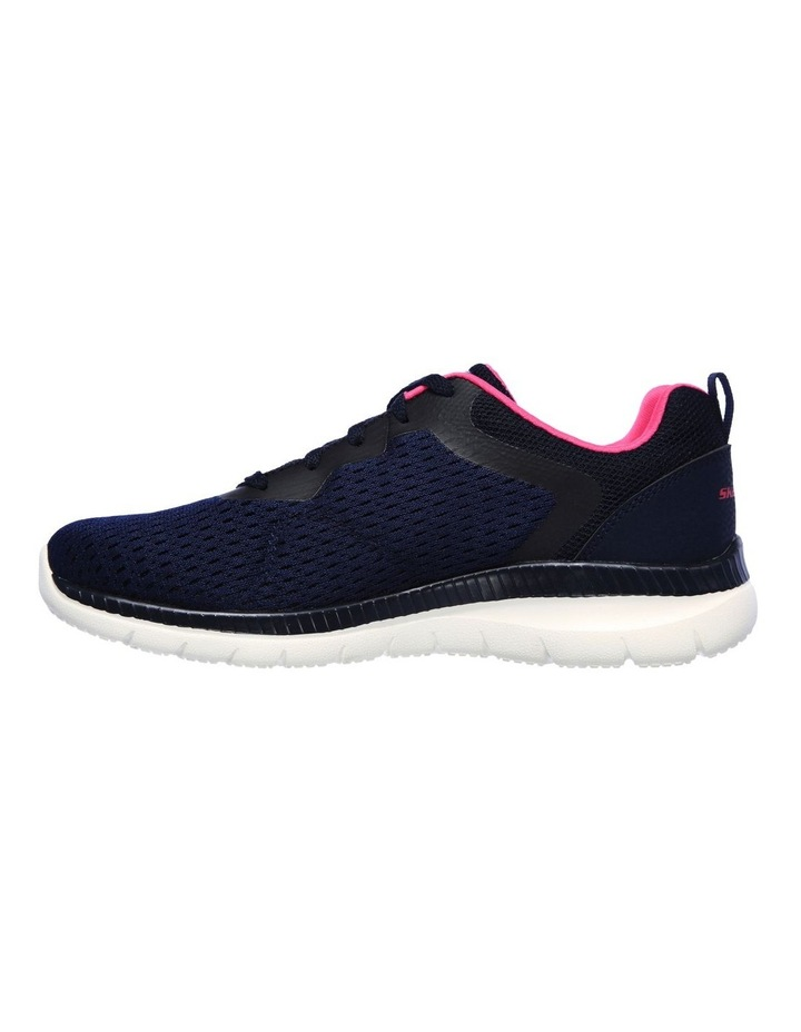 Bountiful - Quick Path 12607 Navy/Hot Pink Sneaker image 4