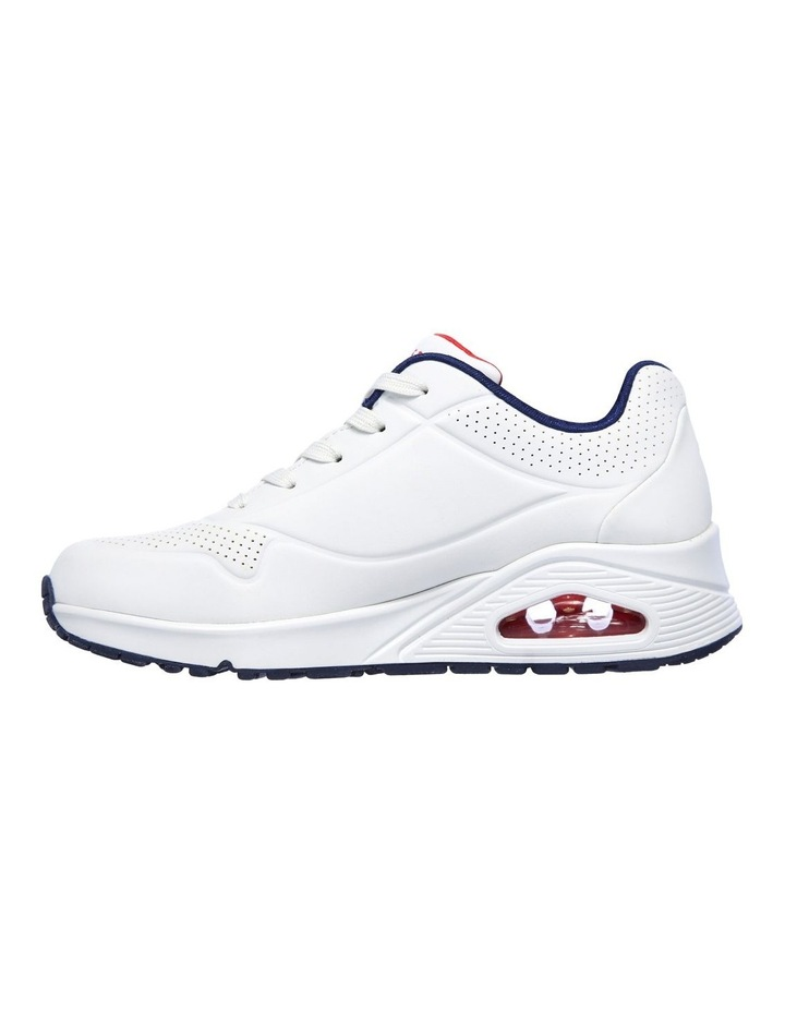 Uno - Stand On Air 73690 White/Navy/Red Sneaker image 5