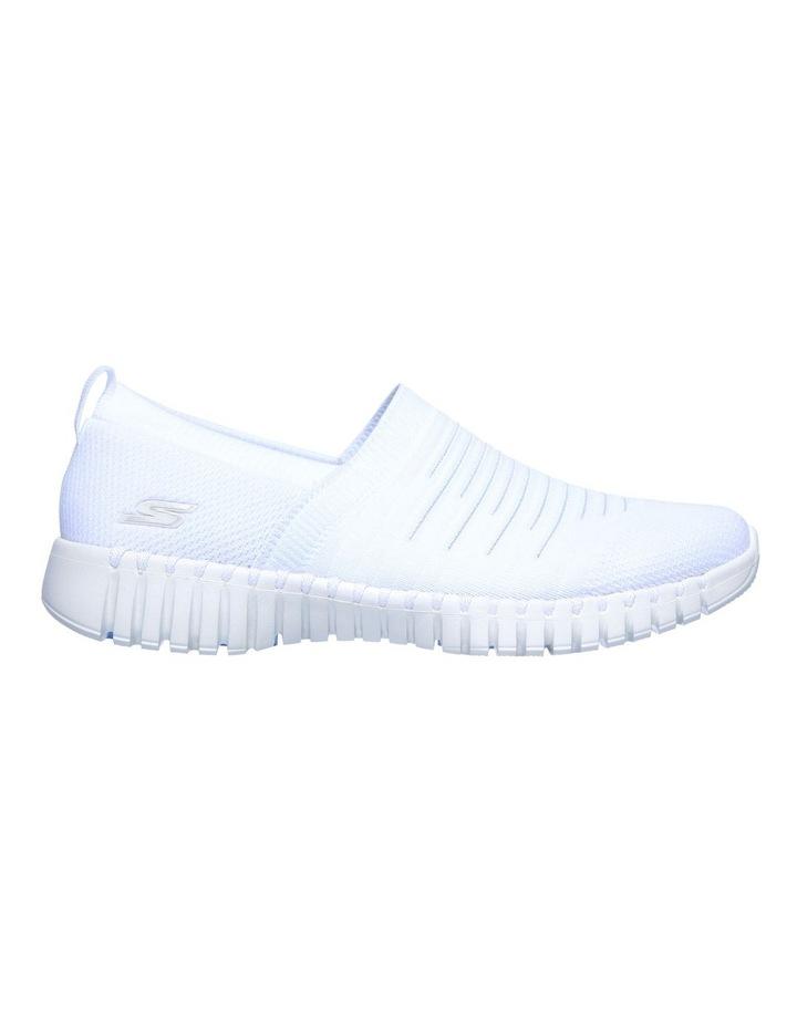 Go Walk Smart - Wise 124043 Wht White Sneaker image 2