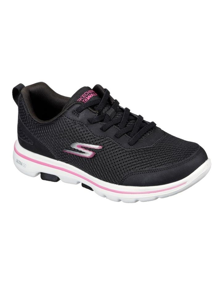 Go Walk 5 Guardian 124011 Bkhp Black/Hot Pink Sneaker image 1