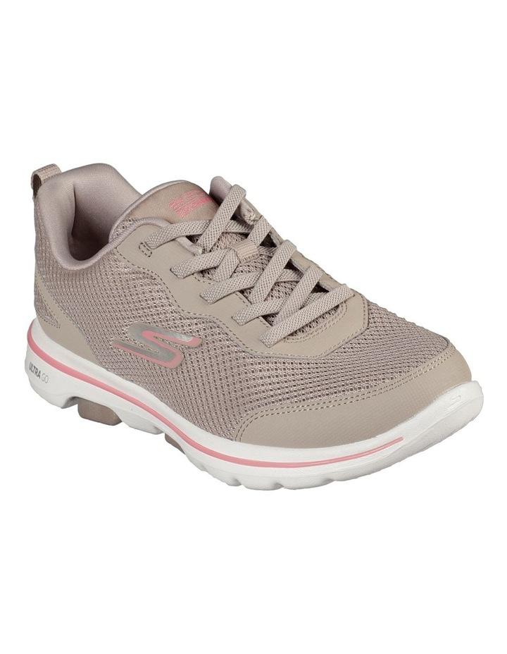 Go Walk 5 - Guardian 124011 Tpcl Taupe/Coral Sneaker image 1