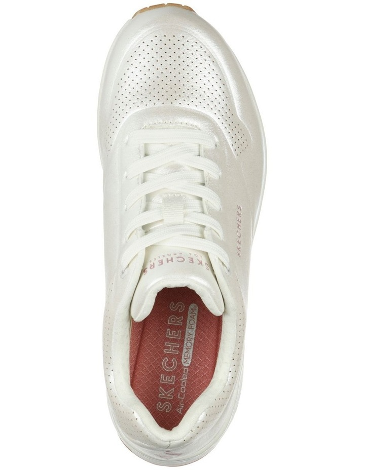 Uno Pearl Queen White Sneaker image 2