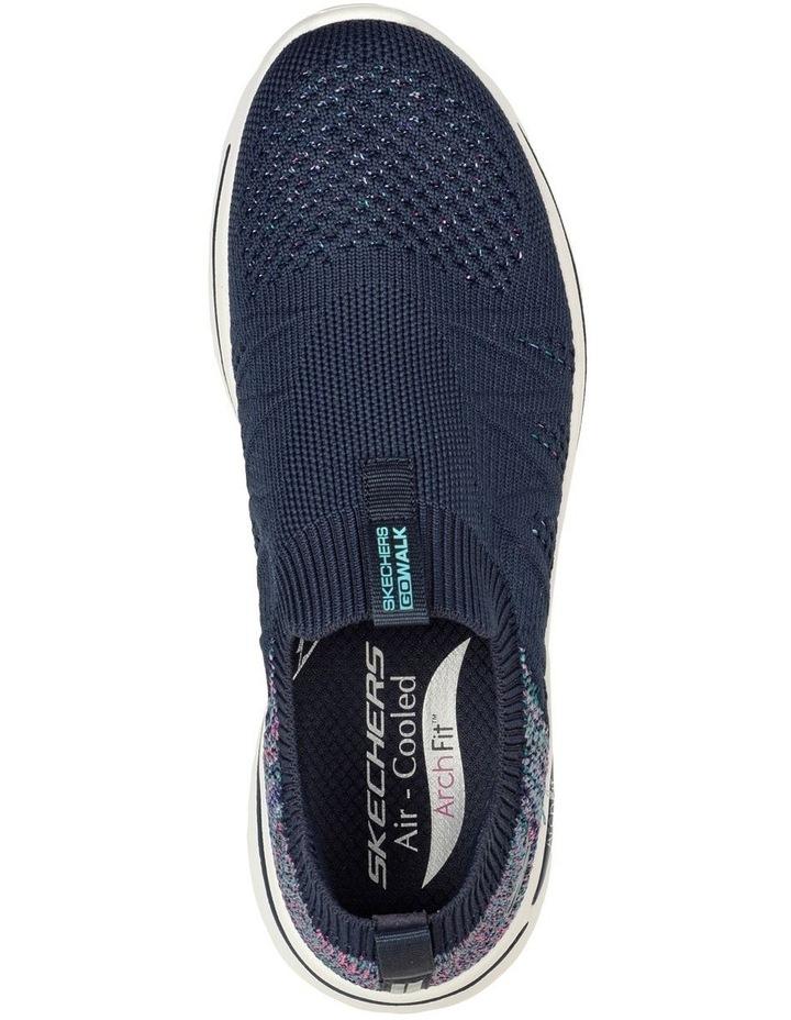 Gowalk Arch Fit Fun Times Navy Sneaker image 4