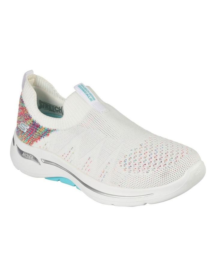 Gowalk Arch Fit Fun Times White Sneaker image 1