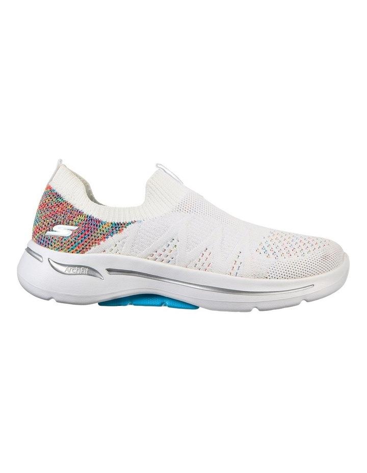 Gowalk Arch Fit Fun Times White Sneaker image 2