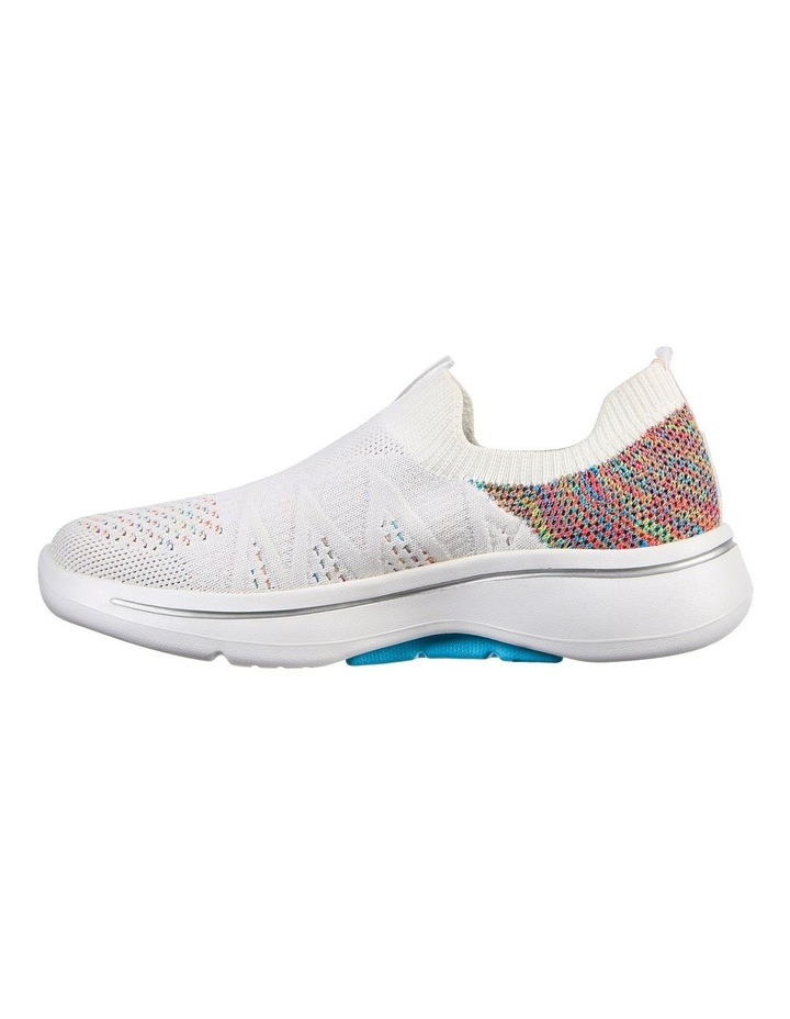 Gowalk Arch Fit Fun Times White Sneaker image 4