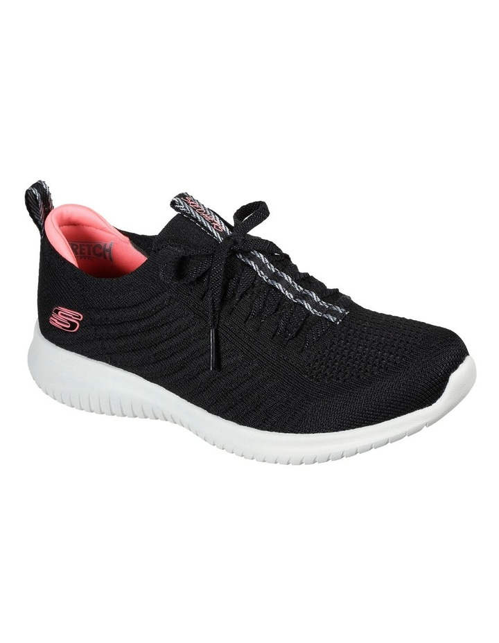 Ultra Flex Joyful Path Black Sneaker image 1