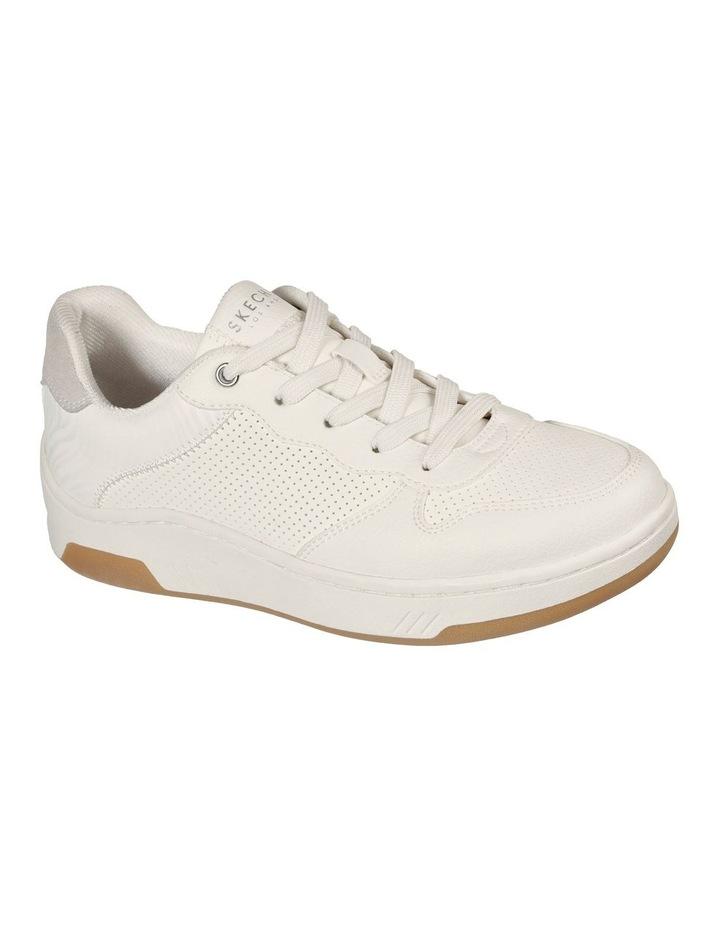 Upbeats Subtle Stripes White Sneaker image 1