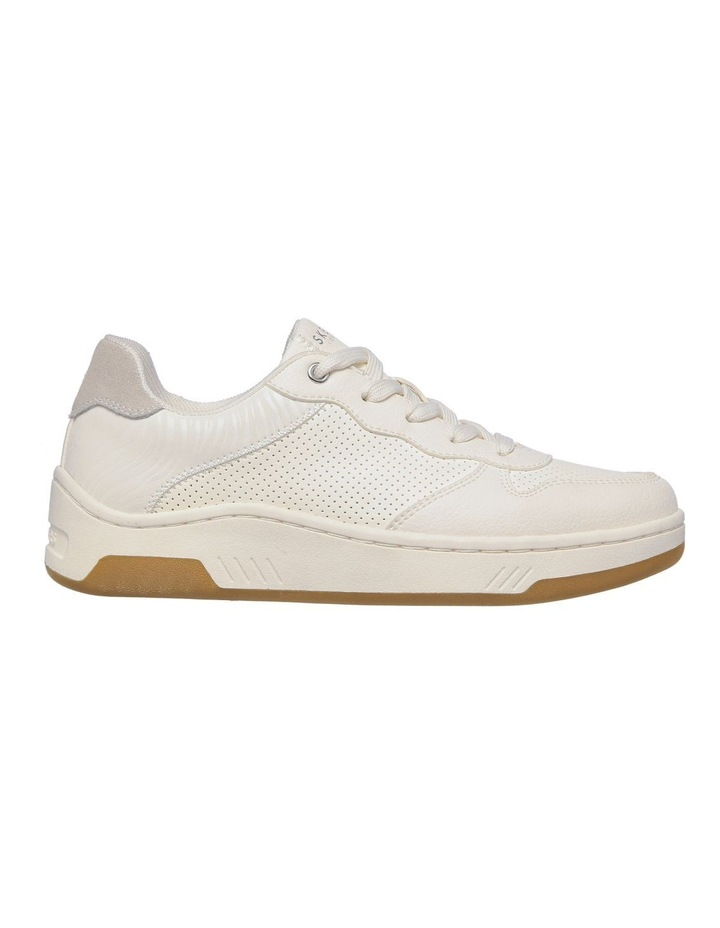 Upbeats Subtle Stripes White Sneaker image 2