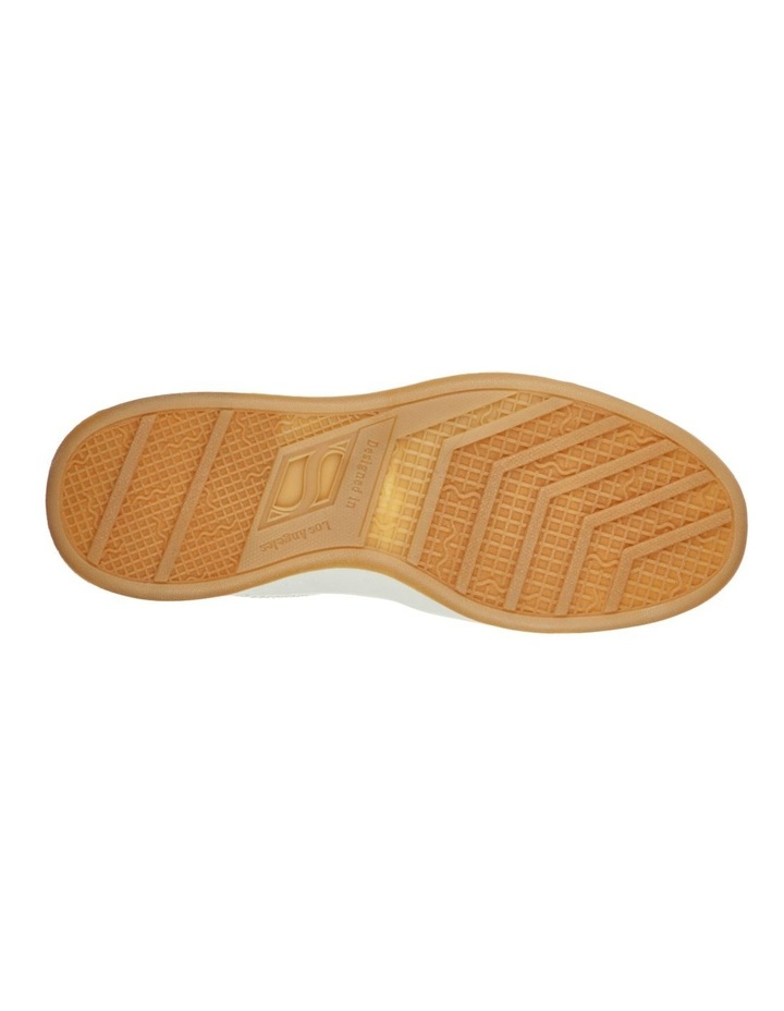 Upbeats Subtle Stripes White Sneaker image 5