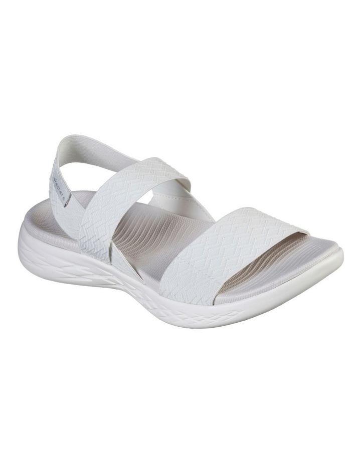 On-The-Go 600 Girls Trip 140026 White Sandal image 1