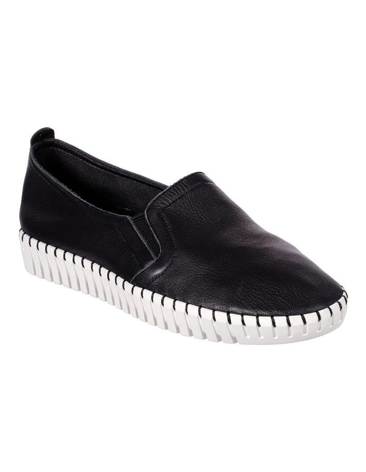 Sepulveda Blvd - Cityfied 27053 Black Flat Shoe image 2
