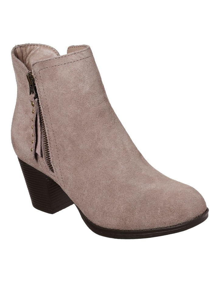 Taxi Don't Trip Taupe Heeled Ankle Boot image 1