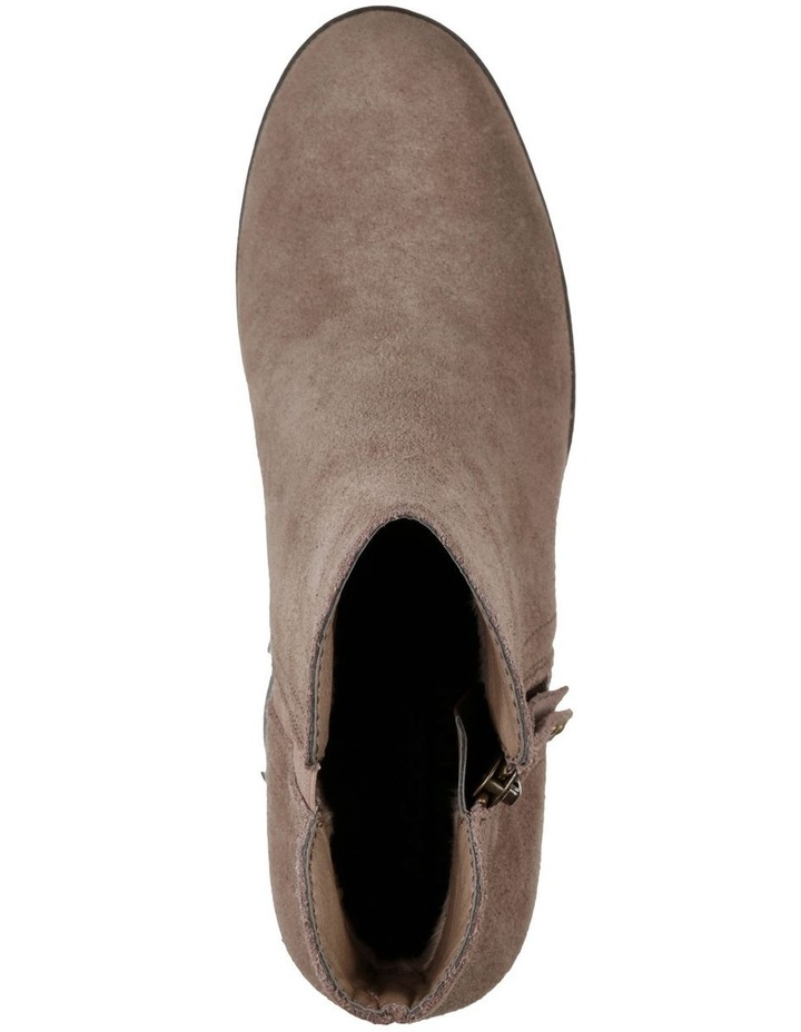 Taxi Don't Trip Taupe Heeled Ankle Boot image 2