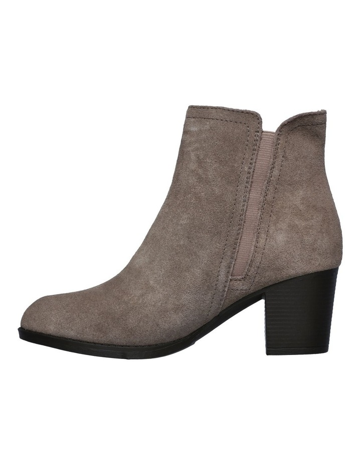 Taxi Don't Trip Taupe Heeled Ankle Boot image 3