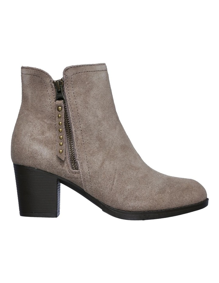 Taxi Don't Trip Taupe Heeled Ankle Boot image 4