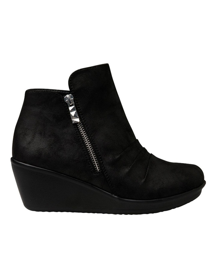 Rumblers Demby Black Wedge Boot image 1