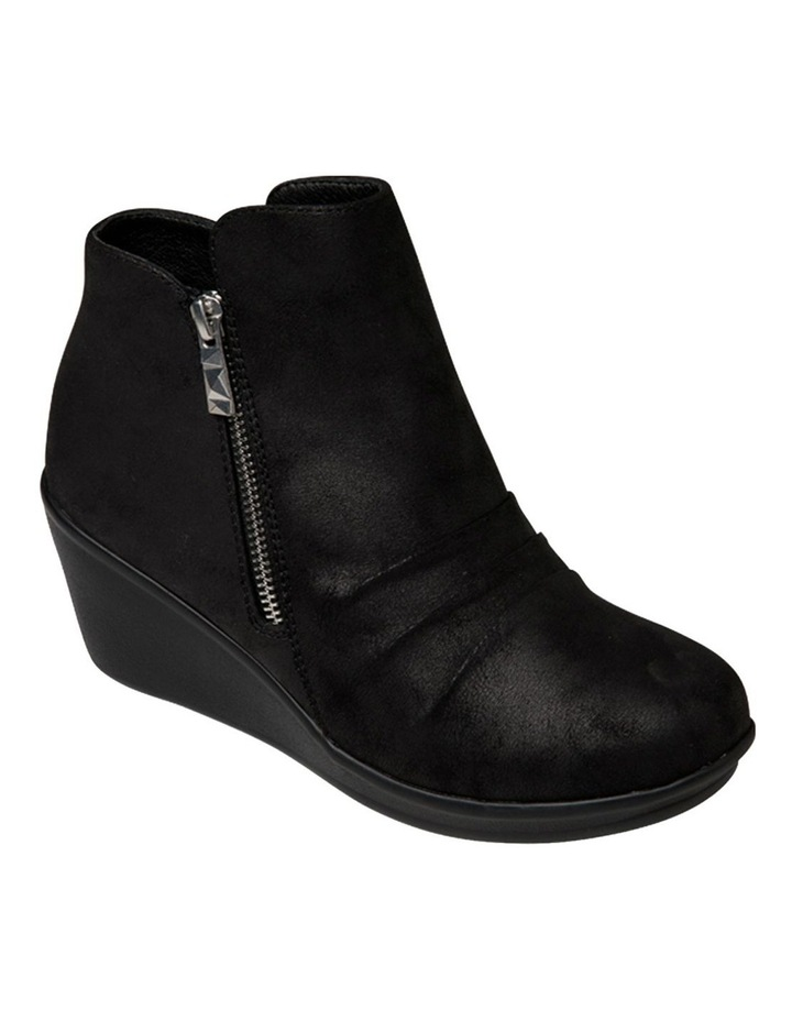 Rumblers Demby Black Wedge Boot image 2