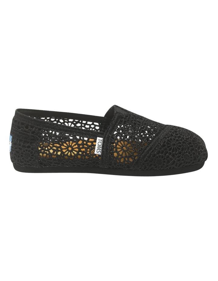 Alpargata 001096B10 Black Morocco Crochet Sneaker image 1