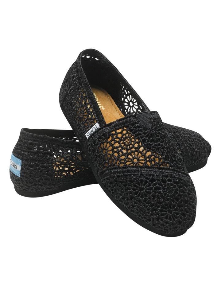 Alpargata 001096B10 Black Morocco Crochet Sneaker image 2