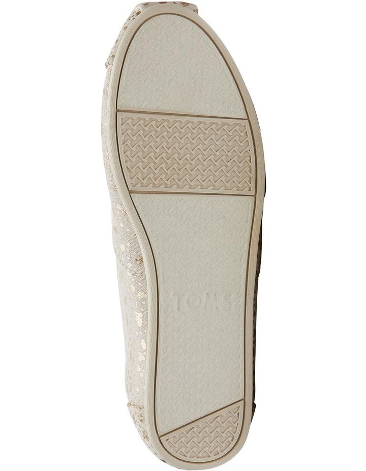 Alpargata 10010801 Gold Foil Snow Spots Sneaker image 3
