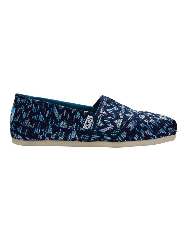 Alpargata 10010802 Navy/Peacock Colourful Tribal Sneaker image 1
