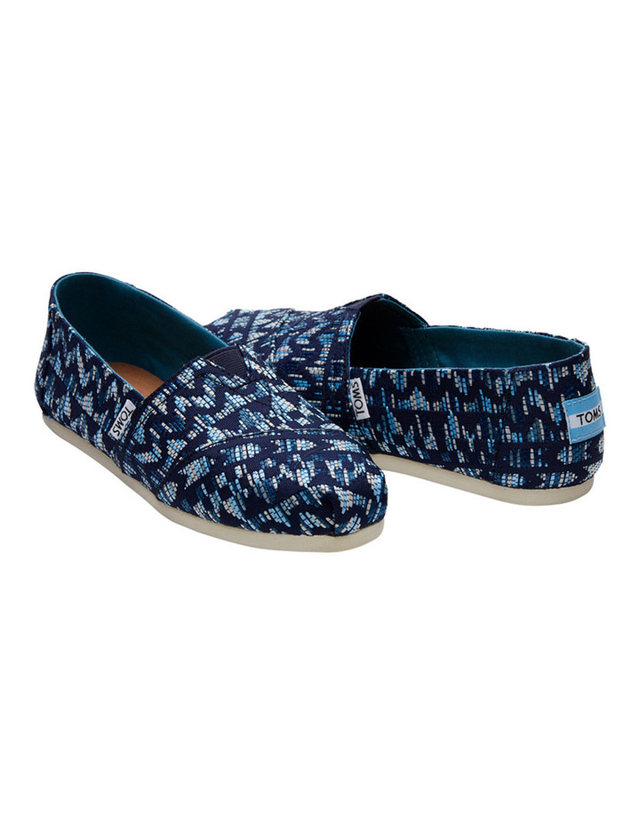 Alpargata 10010802 Navy/Peacock Colourful Tribal Sneaker image 2