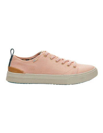 2755f8eb3ca TOMSCoral Pink Canvas TRVL LITE Low Women s Sneakers. TOMS Coral Pink Canvas  TRVL LITE Low Women s Sneakers
