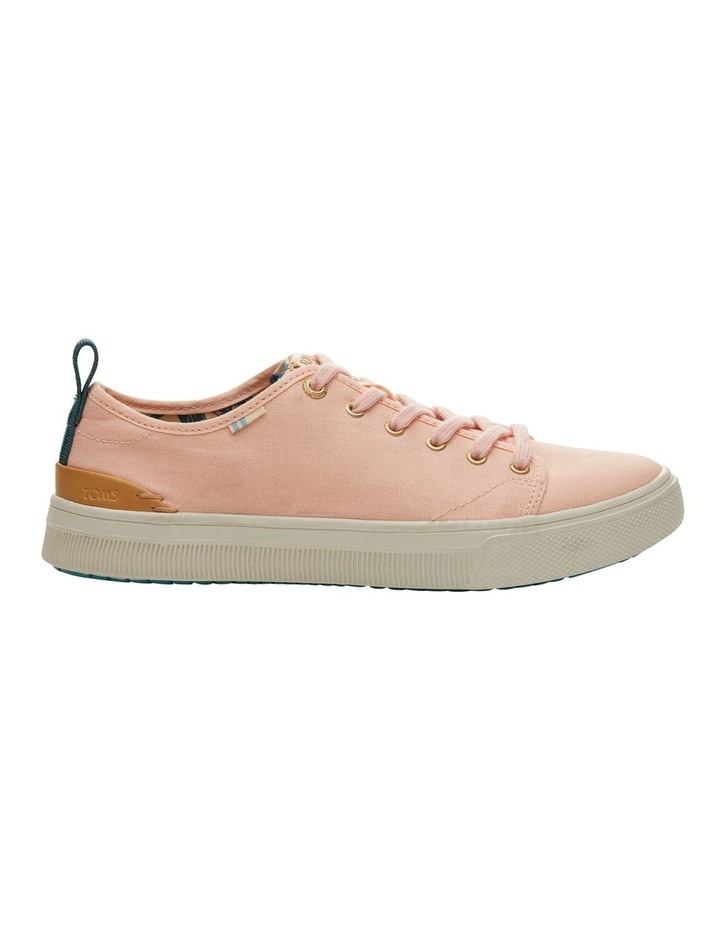 Coral Pink Canvas TRVL LITE Low Women's Sneakers image 1