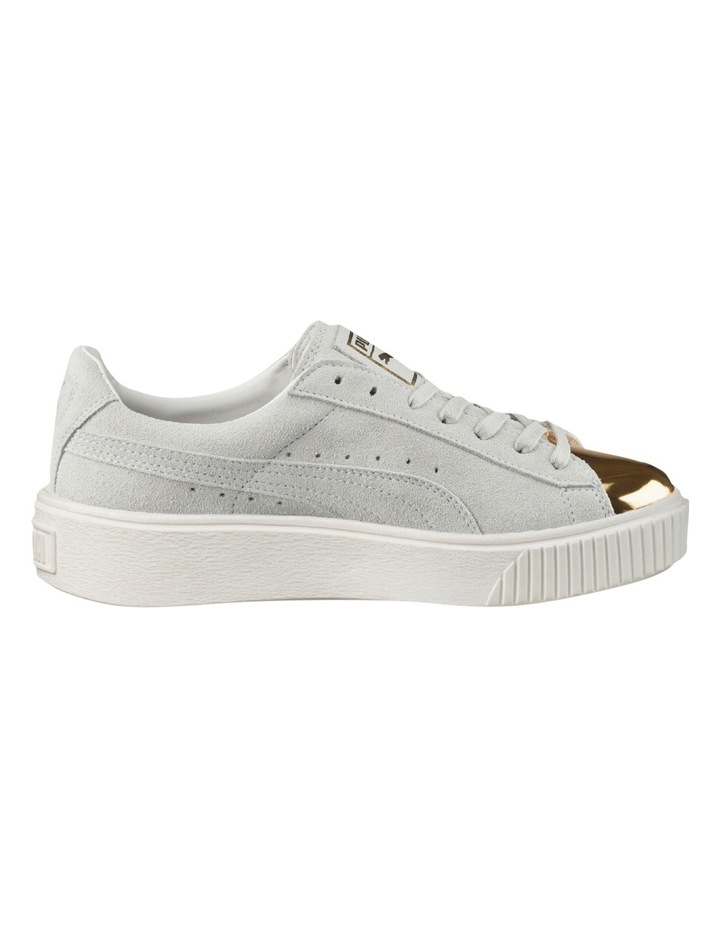 Suede Creeper White Gold Sneaker image 1