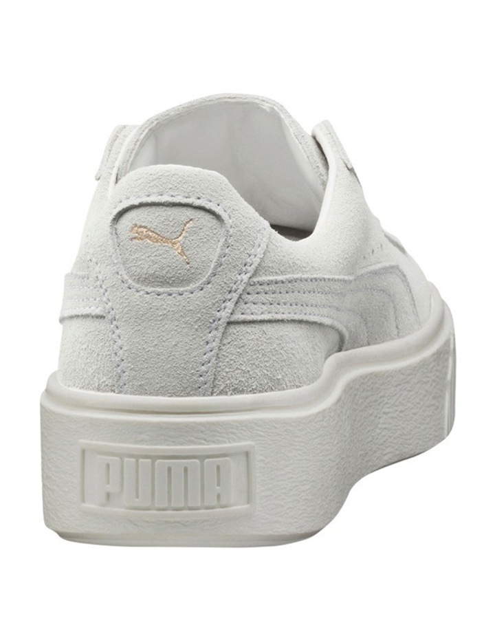 Suede Creeper White Gold Sneaker image 5