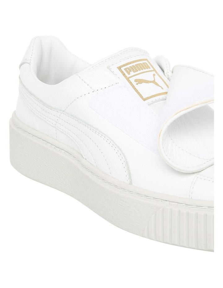 Basket Platform Strap 364112302 White/White Sneaker image 3
