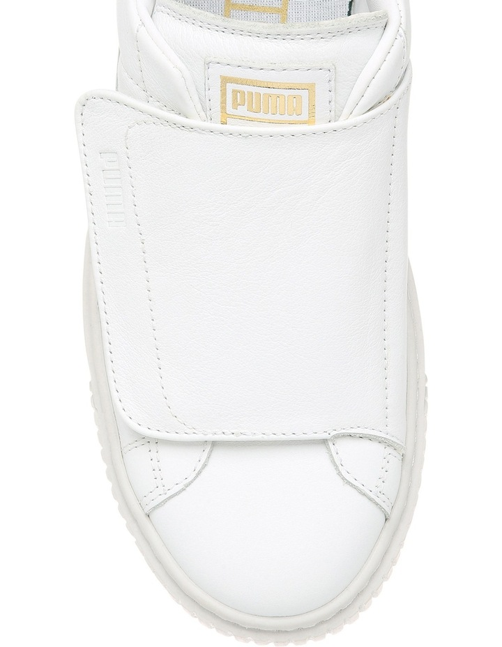Basket Platform Strap 364112302 White/White Sneaker image 4