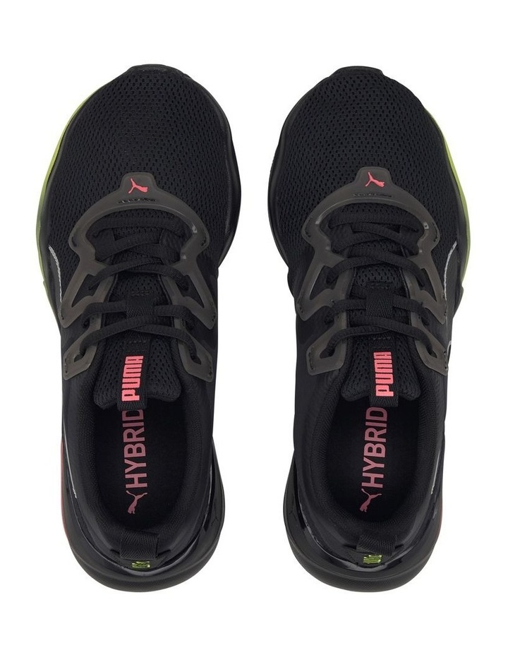 Zone XT Womens 193031 05 Black-Ignite Pink-Silver Sneaker image 3