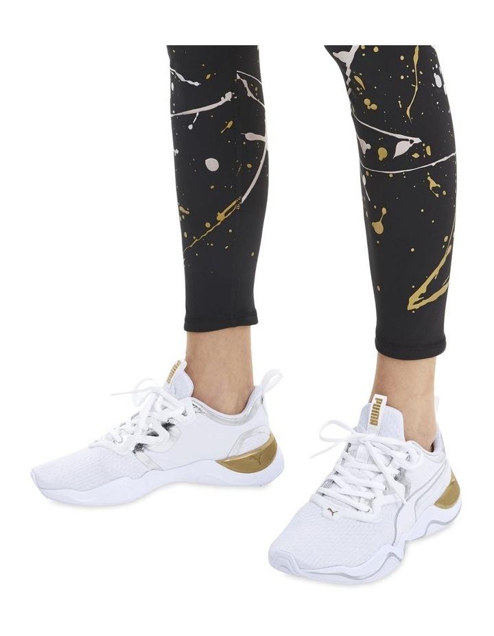 Zone XT Metal Womens 193032 01 White-Metallic Gold Sneaker image 7