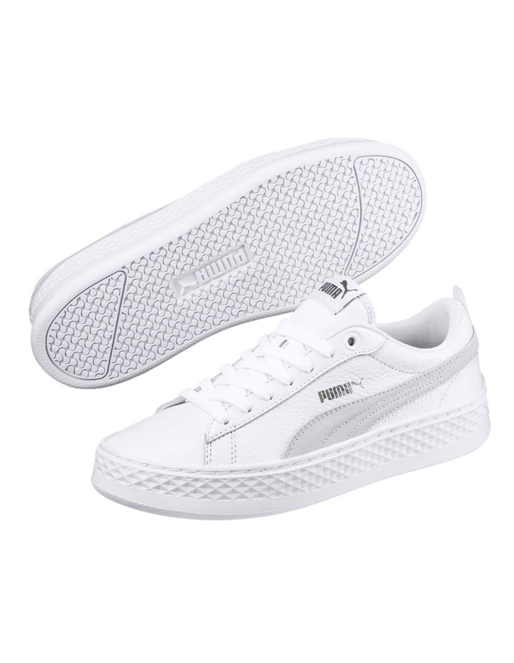 Smash Platform L  36648706 White/White Sneaker image 4
