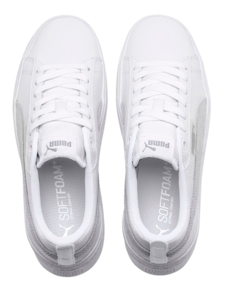 Smash Platform L  36648706 White/White Sneaker image 6