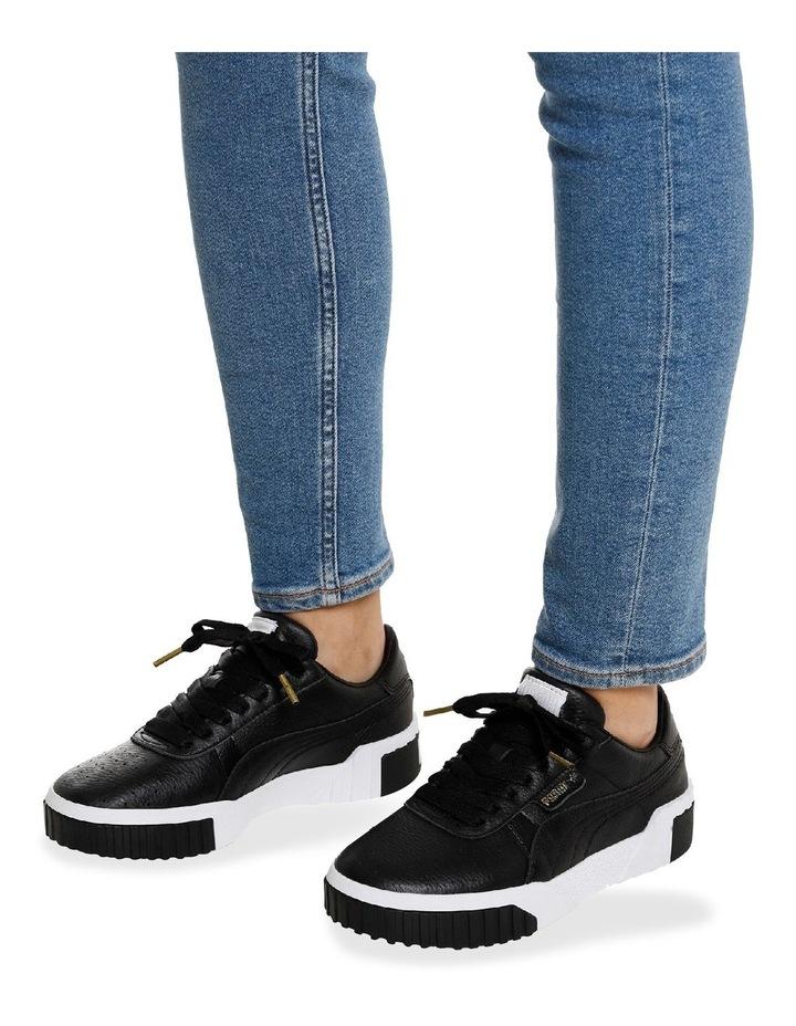 Cali Womens 36915503 Black/White Sneaker image 7