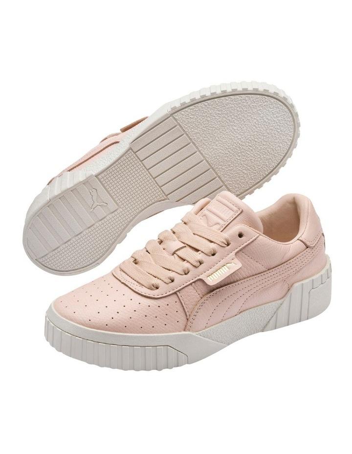 Cali Emboss Womens 36973401 Cream Tan Sneaker image 1