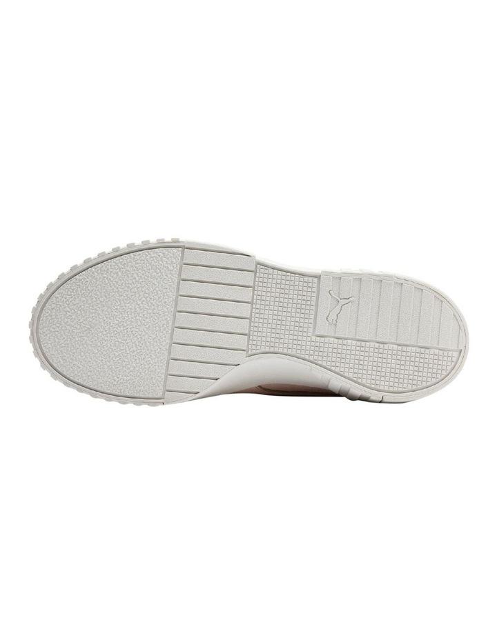 Cali Emboss Womens 36973401 Cream Tan Sneaker image 3