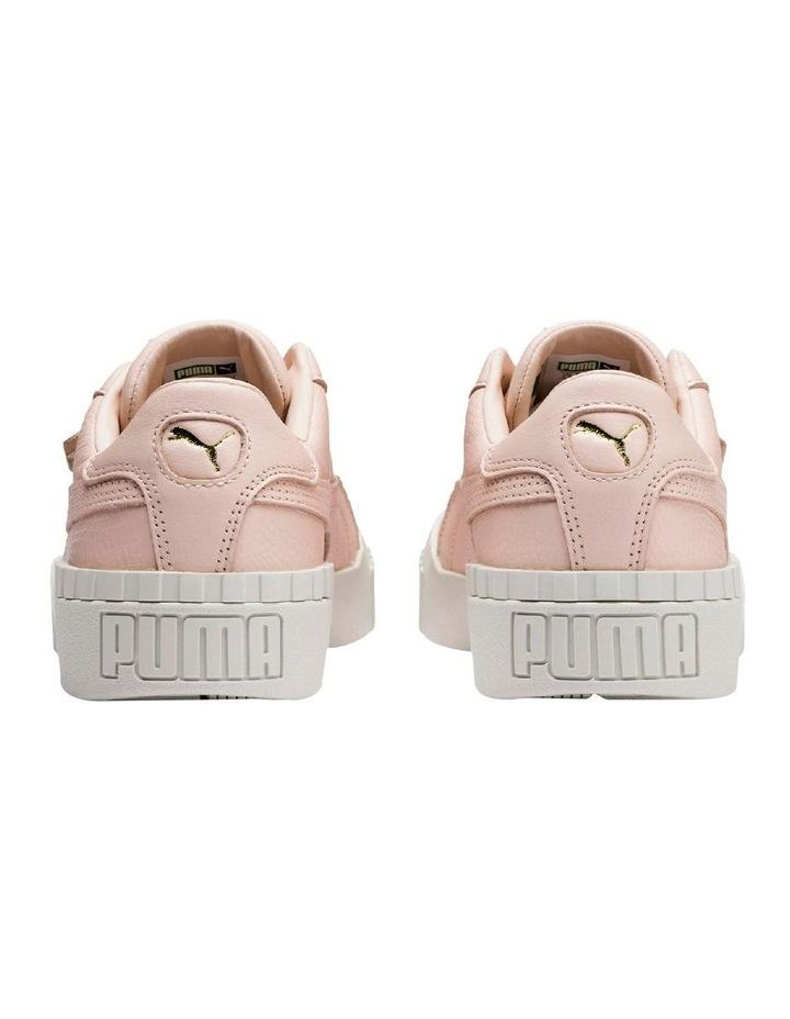 Cali Emboss Womens 36973401 Cream Tan Sneaker image 6