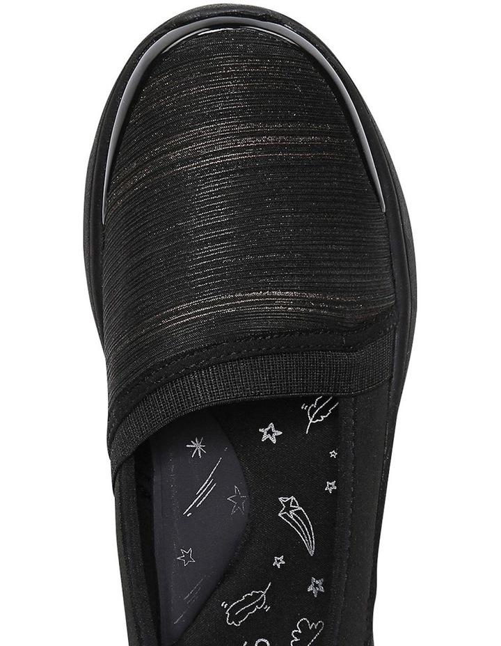 Lollipop Black/Gold Shimmer Sneaker image 4