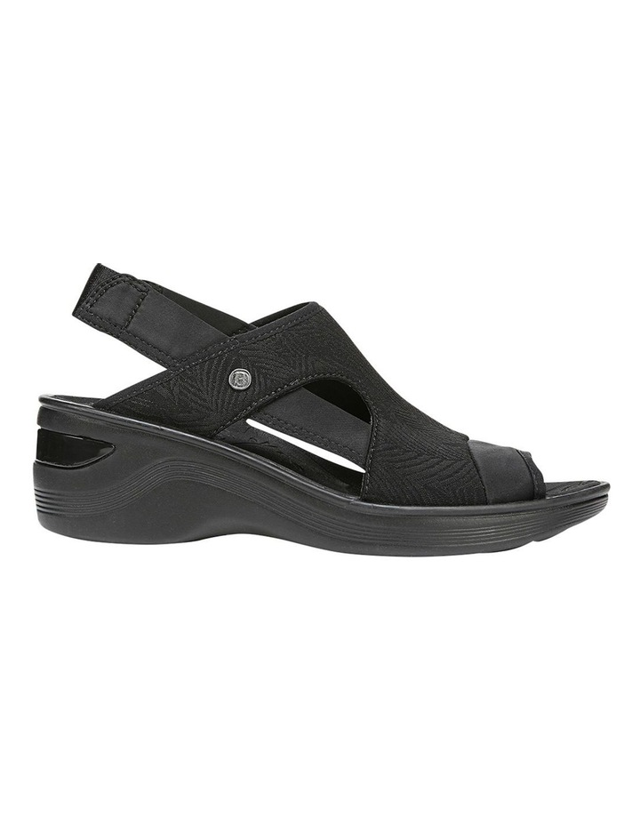 Dashing Black Sandal image 1