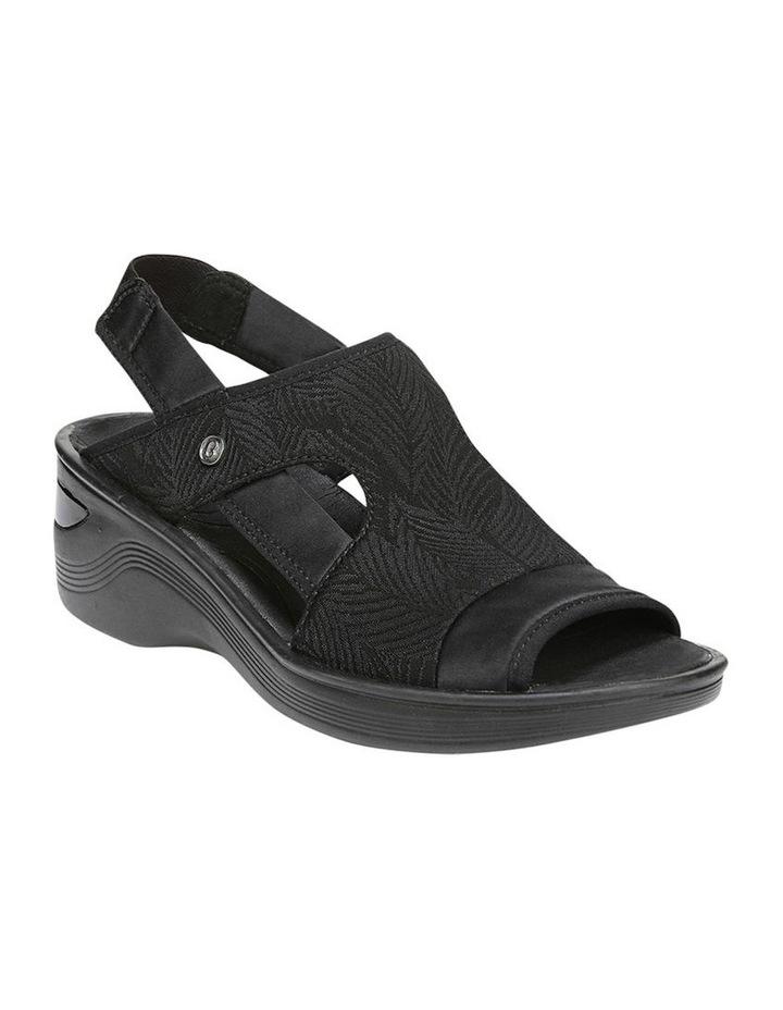 Dashing Black Sandal image 2