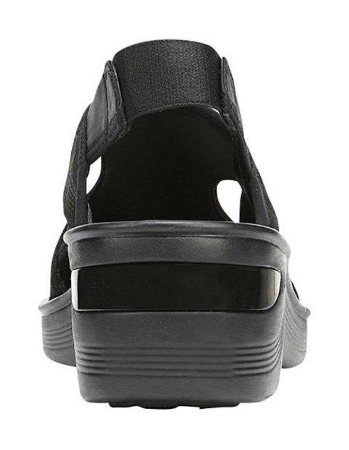 Dashing Black Sandal image 3