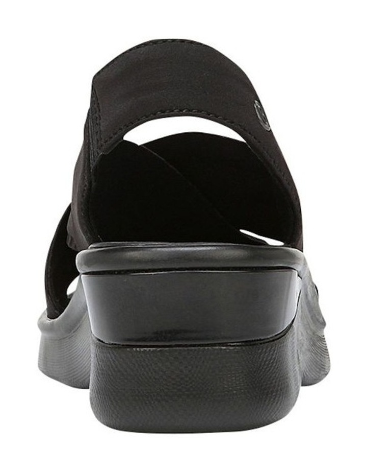 Sunset Black Lycra Sandal image 3