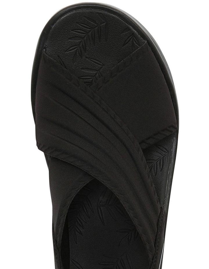 Sunset Black Lycra Sandal image 4