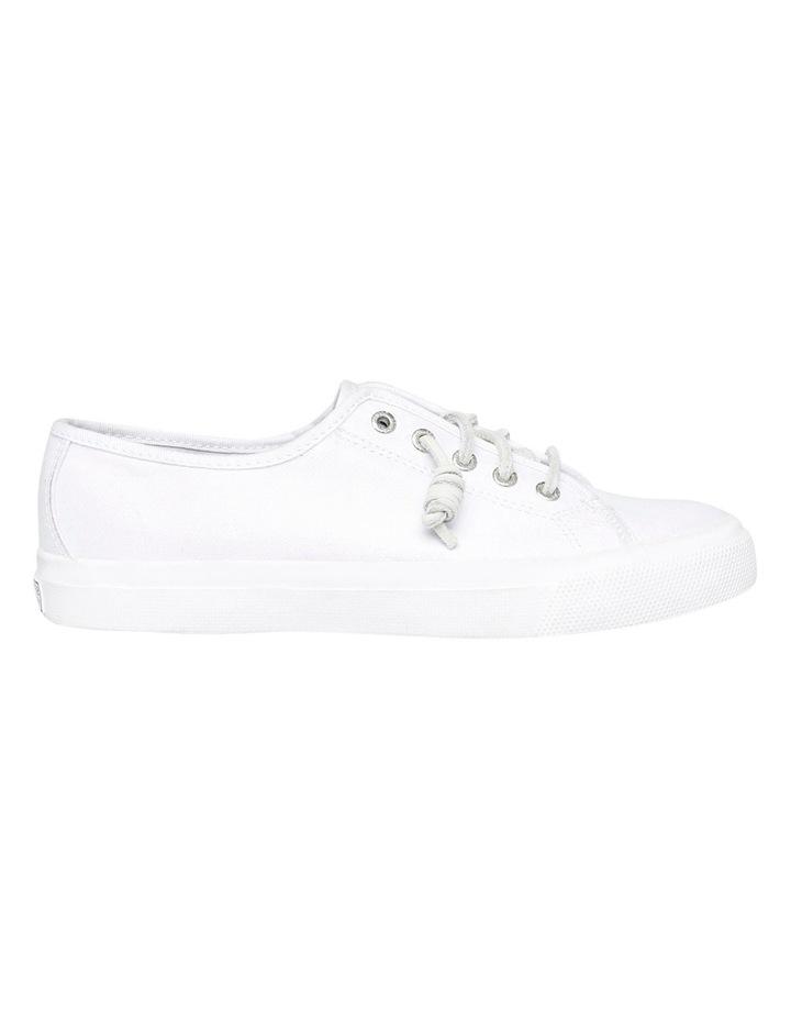 Seacoast Core Canvas Mono White Sneaker XS93173 image 1