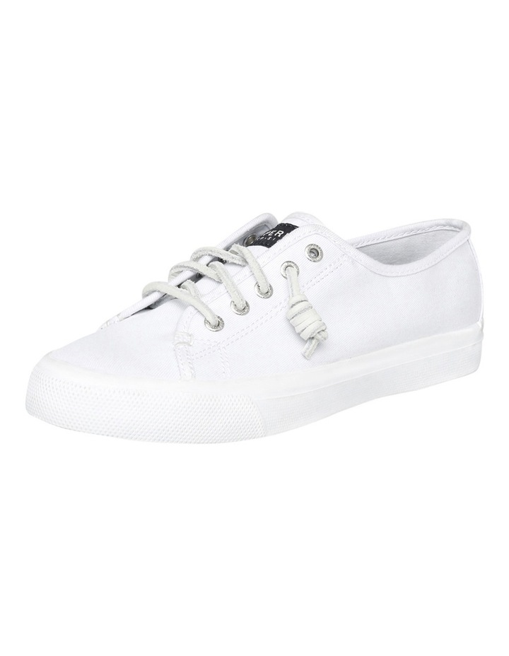 Seacoast Core Canvas Mono White Sneaker XS93173 image 2