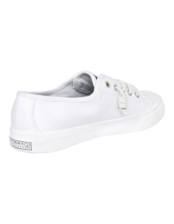 Seacoast Core Canvas Mono White Sneaker XS93173 image 3